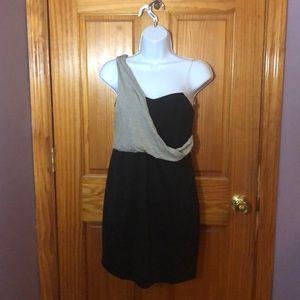 Black Bodycon dress with sash